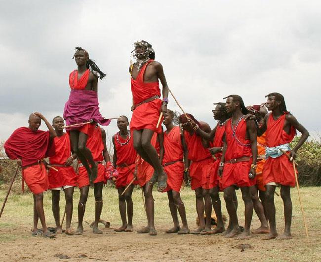 Masai_Village
